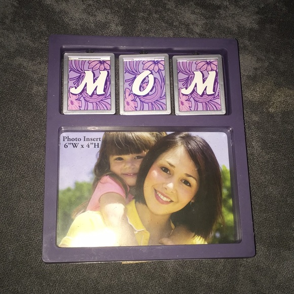 Other - Purple moms photo frame